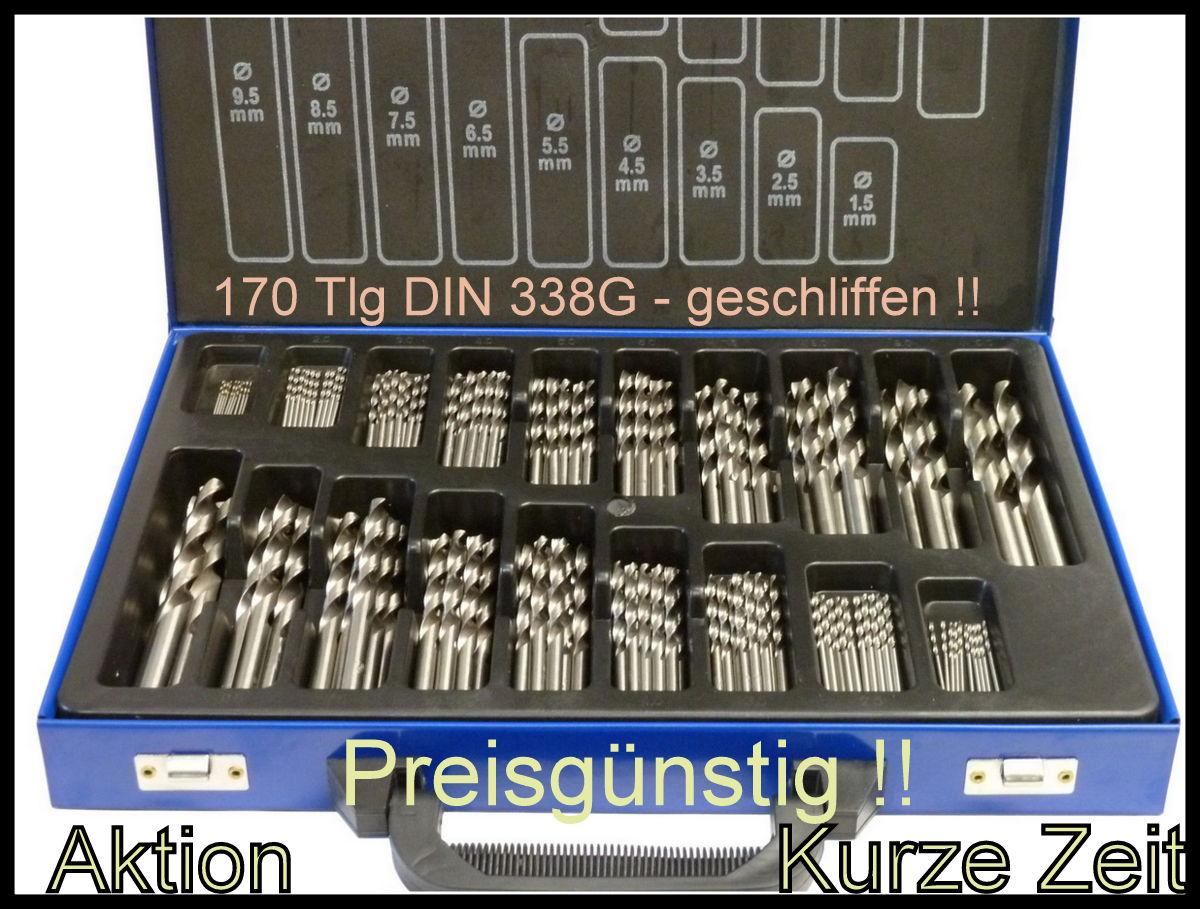 10 x HSS-G Spiralbohrer 3,0 mm Metallbohrer HSSG Bohrer geschliffen