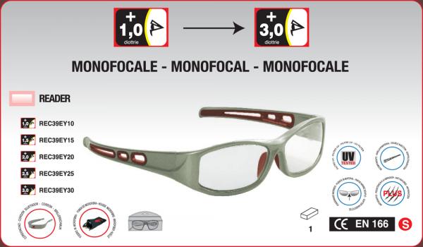 amw store arbeit schutzbrille mit sehst rke 1 bis 3 en166 uv400 mit halsband micro tasche. Black Bedroom Furniture Sets. Home Design Ideas